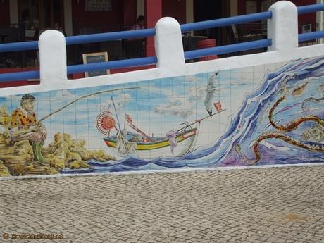 Algarve stadsmozaïk