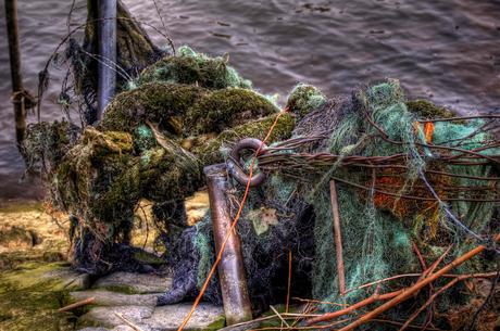 Net en water