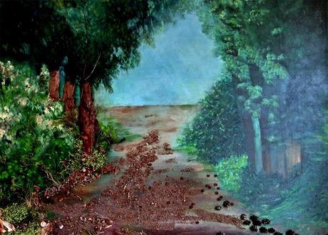 natuurrijk schilderij ............