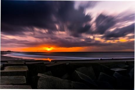 Scheveningen zonsondergang