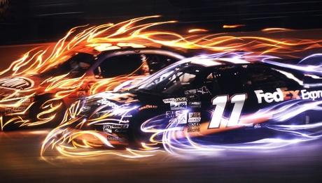 Poster Daytona 500 in 2008