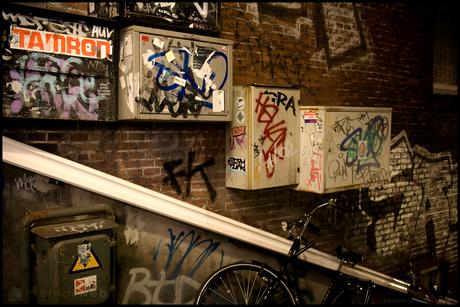 Graffiti-steeg
