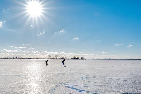 Sunshine skating...
