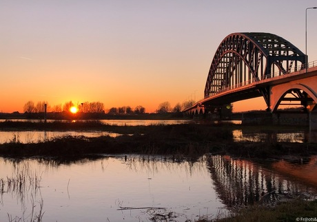 Sunset IJssel