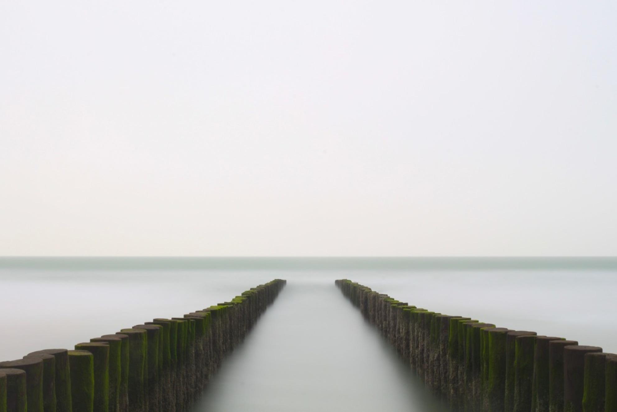 Stop the time (2/3) - - - foto door JNSSN op 04-04-2018 - deze foto bevat: strand, zee, water, landschap, zand, pier, zeeland, kust, nederland, westenschouwen, lange sluitertijd - Deze foto mag gebruikt worden in een Zoom.nl publicatie