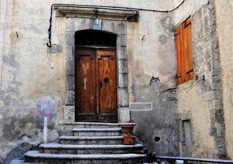 oude deur zuid Frankrijk