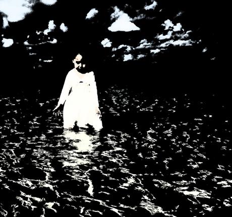 Meisje in het water 1