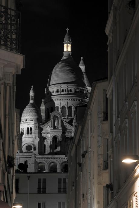 Sacré-Cœur a nuit