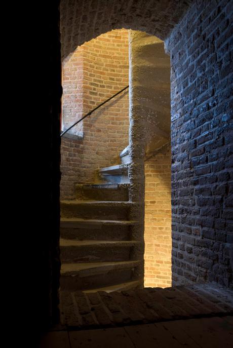 trappenhuis toren Goedereede