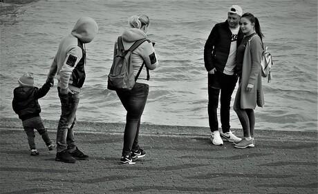 Fotograferen aan de Maas
