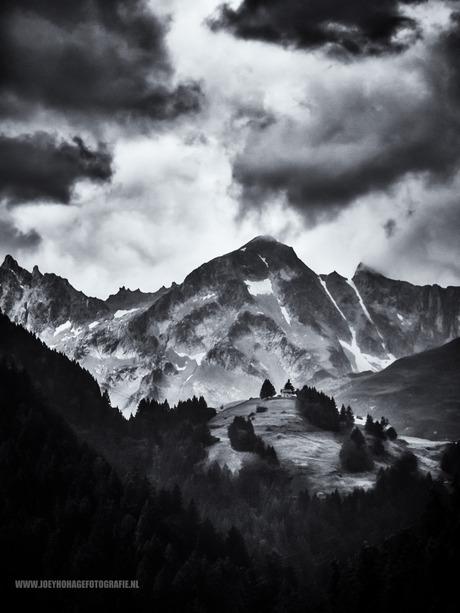 Het huisje op de berg