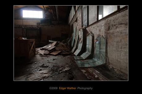 Oude meubelfabriek