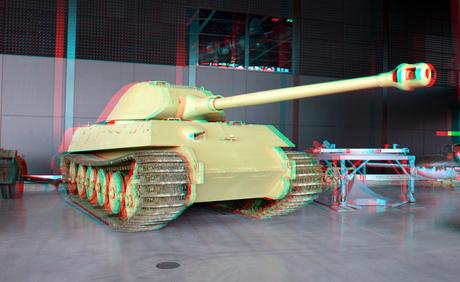Tiger tank NMM Soesterberg 3D