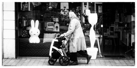Design.... - Voor jong en oud - foto door Mauriliers op 28-05-2013 - deze foto bevat: nijntje, design, zwart wit