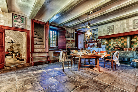 Keuken Kasteel Cannenburch