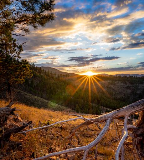 Lockett Meadow Sunset