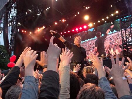 Bruce Sprinsteen - Bruce in het Goffertpark Nijmegen op22 juni 2013 - foto door Duckie_zoom op 30-06-2013 - deze foto bevat: optreden, concert, goffert park, bruce springsteen