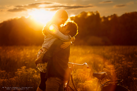 Love in the golden hour