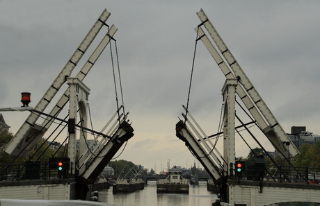 Amsterdam 1 De Magere brug.