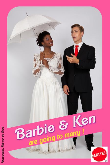 Barbie en Ken - Are going to marry ! - Barbie en Ken - Are gooing to marry ! - foto door rvlierd op 29-06-2013 - deze foto bevat: dennis, poppen, fun, studio, maarssen, rob van de Vlierd, barbie en ken, svetje