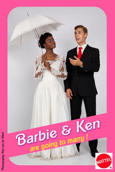 Barbie en Ken - Are going to marry !