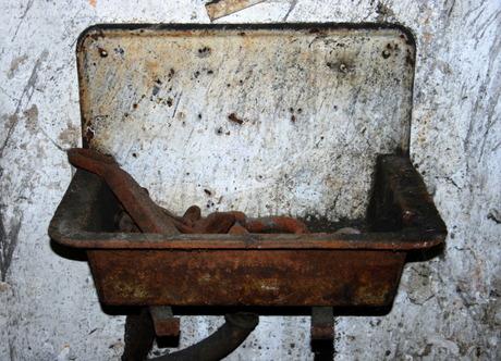 De oude wasbak