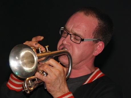 Portret van een muzikant