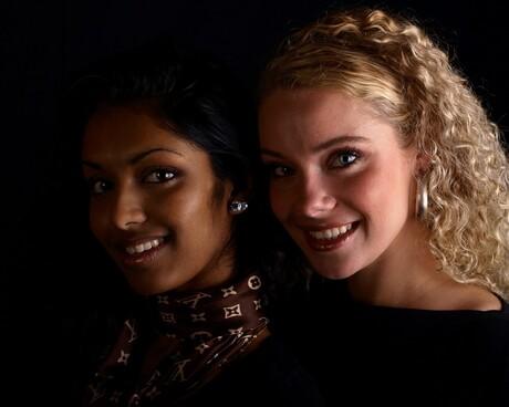 Sewwandi en Chiara