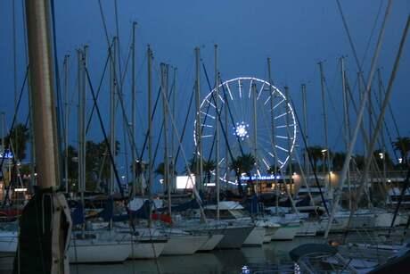Blauwe uur Cote D'Azur