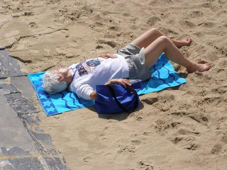 Zonnig dagje aan het strand!