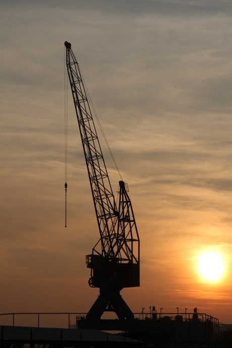 Sunset @ NDSM