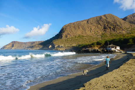 Ochtend in Tarrafal - Kaapverdië