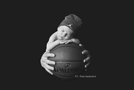 Als je ouders basketballers zijn...