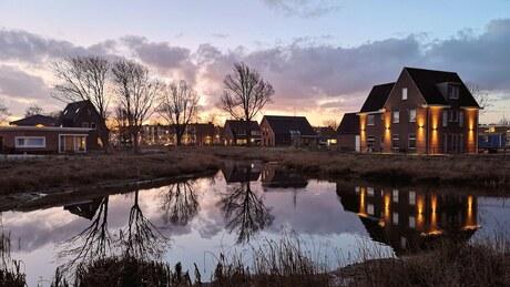 Nieuw Den Helder in the morning...