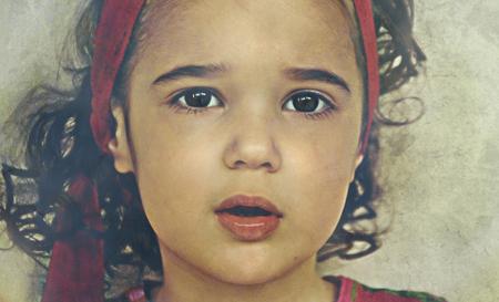 Rosalie - bewerking - foto door lotuss op 23-03-2011 - deze foto bevat: portret, kind, bewerking