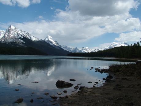 Mooi meer in Canada