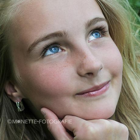 Blauwe ogen...