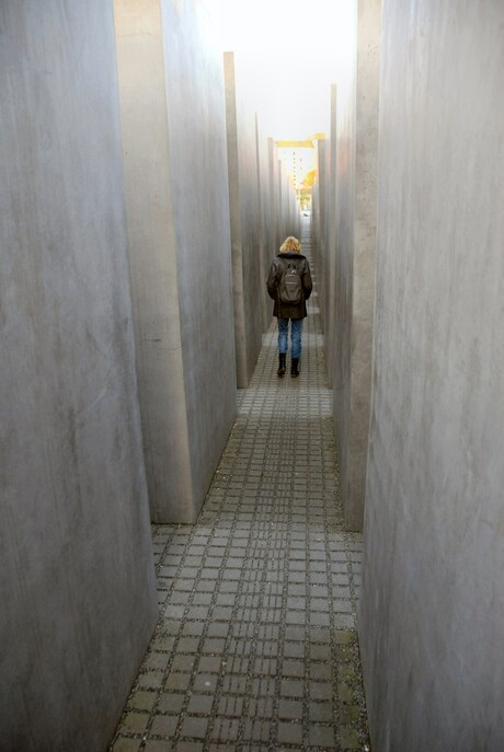 Berlijn, holocaustmonument.