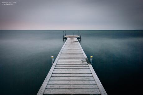Slechts een pier