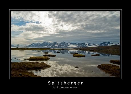 Spitsbergen, in de buurt bij Ny-Ålesund