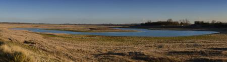 Het Zwin panorama 2 - Uitzicht over het natuurreservaat Het Zwin - foto door Canard op 08-01-2017