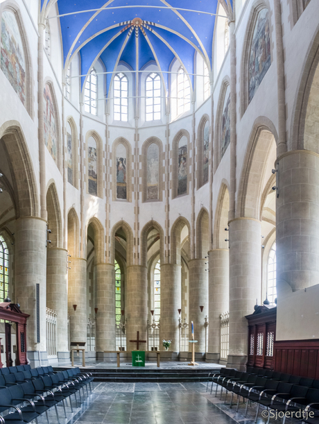 Interieur Martinikerk Groningen