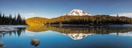 Zonsopkomst Mount Rainier