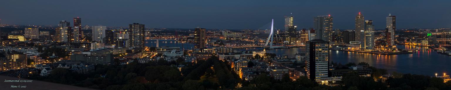 Zoomavond 2017 - Rotterdam - Gisterenavond had ik de eer om samen met Ron A.B. een zoomavond in Rotterdam te organiseren, na een zeer lange tijd kan ik zeggen. Het is een topavon - foto door Hans1969_zoom op 24-09-2017 - deze foto bevat: panorama, nachtfoto, avondfoto, hans1969, zoomavond. zoomavond rotterdam