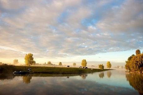 Zondag ochtend aan de Maas