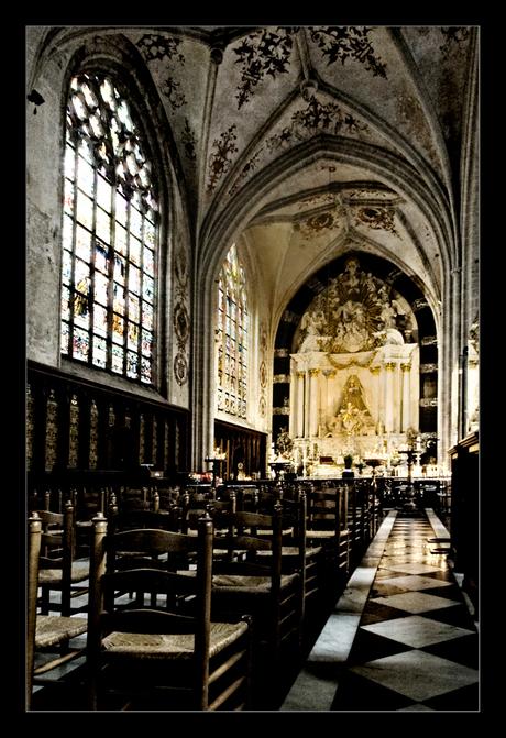 Church can be dark