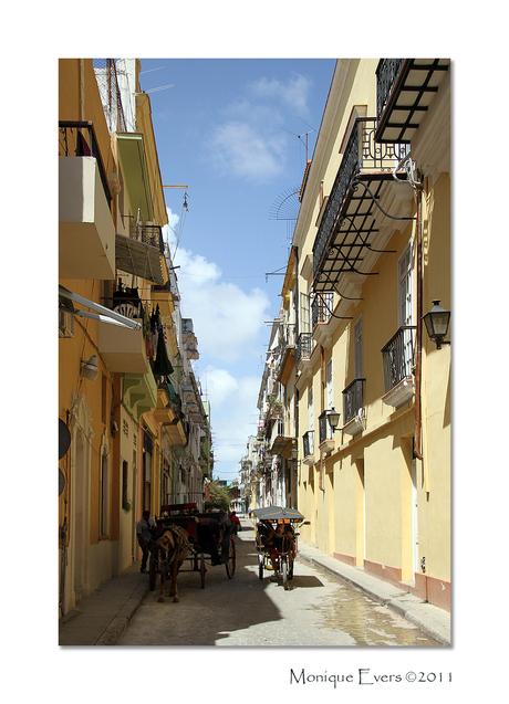 Straatbeeld Havana Cuba