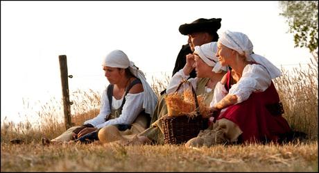 Boerengezellen & de schaduw van de Geselberg
