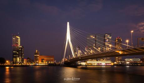 Zwoele avond in Rotterdam,.....