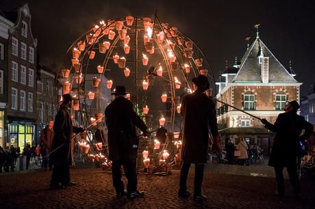 Leeuwarden on fire...